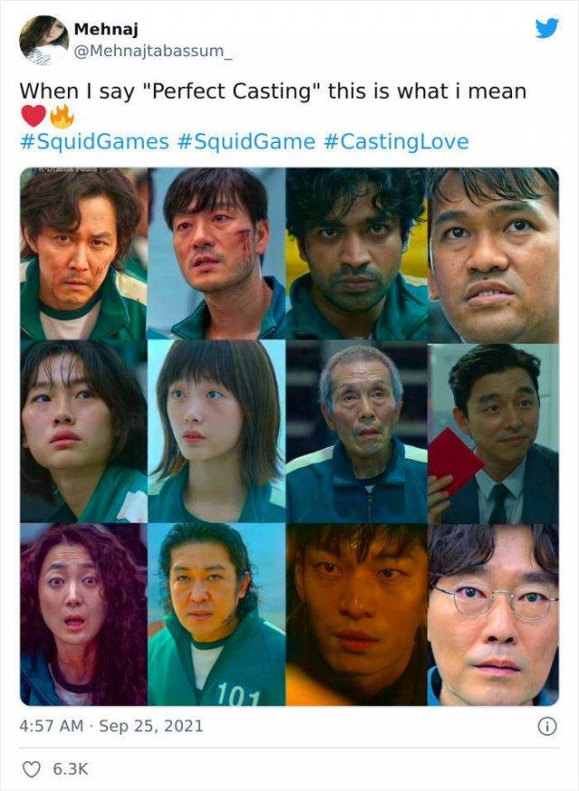 'Squid Game' Movie Tweets