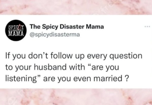 Married Life Humor, part 11