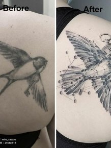 Bad Tattoos Get The New Life